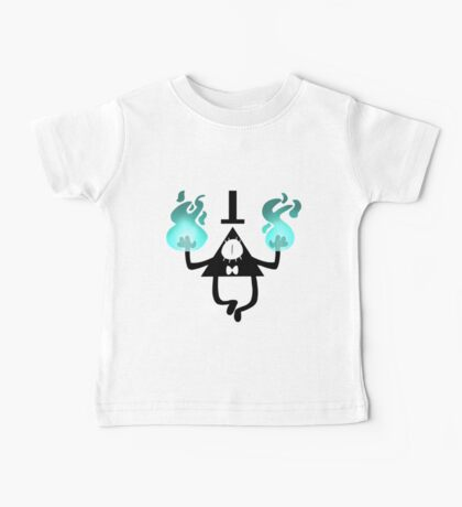 Bill Cipher Flames Baby Tee