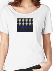 Time and Space Invaders Women's Relaxed Fit T-Shirt