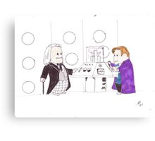 whodipose in space in time Canvas Print