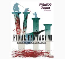 Final Fantasy VII: The Sacrifice Of Cloud - Numbers and Characters With Blood by FFSteF09