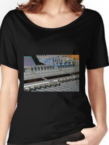 Mixing Console Women's Relaxed Fit T-Shirt