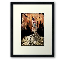Been there, done that. Framed Print