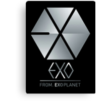 EXO 6 Canvas Print