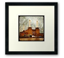 The Battersea Power Station - London Framed Print
