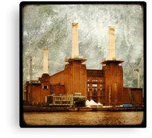 The Battersea Power Station - London Canvas Print