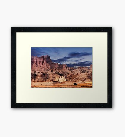 Sunrise over Badlands National Park .5 Framed Print