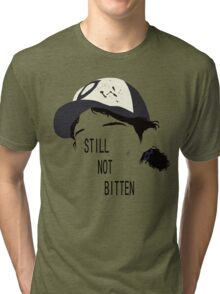 Telltale Games' The Walking Dead - Clementine Outline ver. 2 Tri-blend T-Shirt