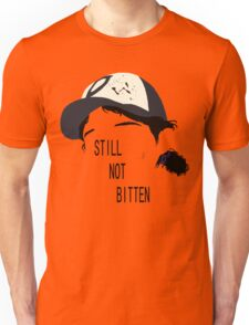 Telltale Games' The Walking Dead - Clementine Outline ver. 2 Unisex T-Shirt