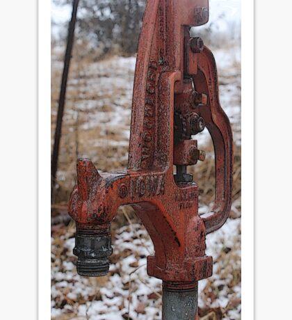 Farm Pump Sticker