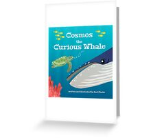 Cosmos the Curious Whale Greeting Card