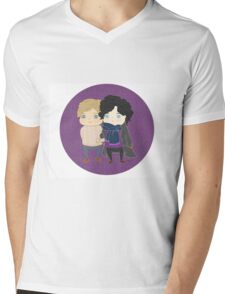 Sherlock - Johnlock Mens V-Neck T-Shirt