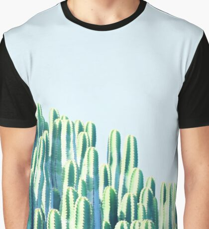 Cactus by the Sea #redbubble #decor  Graphic T-Shirt