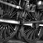 Steel  Wheels by DavidsArt
