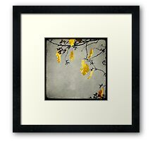 Branche D'Automne Framed Print