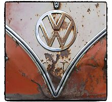 VW Determined  Photographic Print