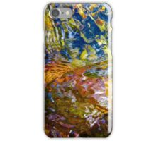 Flowing River Abstract 3 iPhone Case/Skin