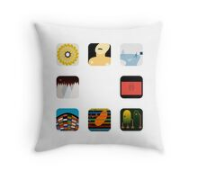 There's an app for that Radiohead Throw Pillow