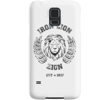 IRON LION ZION BOB MARLEY Samsung Galaxy Case/Skin