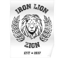 IRON LION ZION BOB MARLEY Poster
