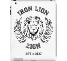 IRON LION ZION BOB MARLEY iPad Case/Skin