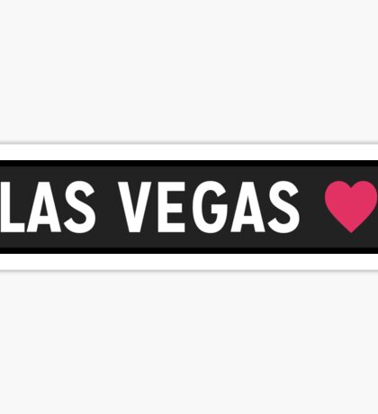 Las Vegas NV Sticker