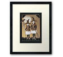 Witching School Framed Print