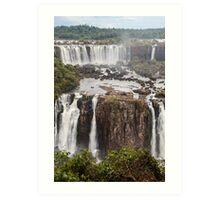 Iguazu Falls - Brazil Art Print