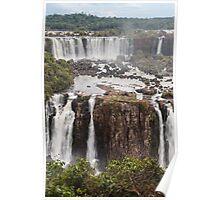 Iguazu Falls - Brazil Poster