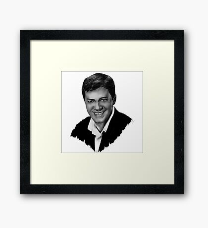 King of Comedy Framed Print