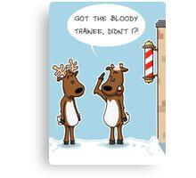 Reindeer Haircuts Canvas Print