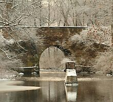 A Stone Bridge 2500 Views!   by Linda Jackson