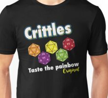 Crittles Taste The Painbow T Shirt Unisex T-Shirt