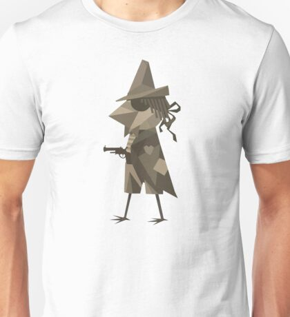 Hand it Over and Nobody Gets Pecked Unisex T-Shirt