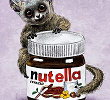 Sweet aim // galago and nutella by AnnaShell