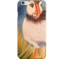 Lonely puffin iPhone Case/Skin