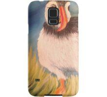 Lonely puffin Samsung Galaxy Case/Skin