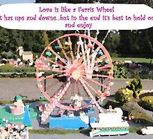 Love is like a Ferris Wheel by CreativeEm