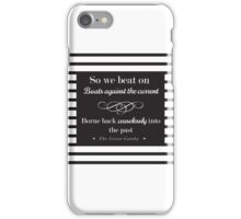 So we beat on - classic stripes iPhone Case/Skin