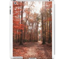 Fall Forest iPad Case/Skin