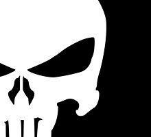 Punisher skull by wolfhandro