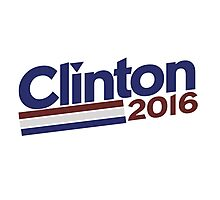 Hilary Clinton 2016 Photographic Print