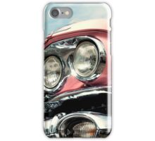 Pink with chrome iPhone Case/Skin
