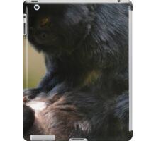 Black Spider Monkey grooming - Photography iPad Case/Skin
