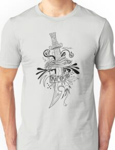 Symbolic Sword - Black & White T-Shirt