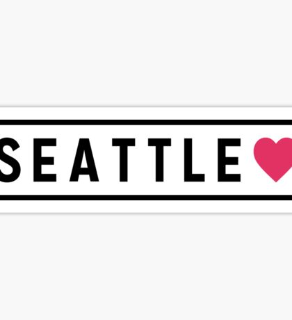Seattle WA Lite Sticker