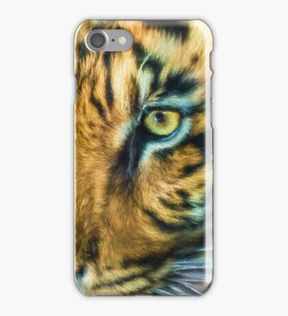 Eye Of The Tiger (TS) iPhone Case/Skin