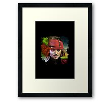 Depp. Framed Print
