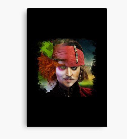 Depp. Canvas Print