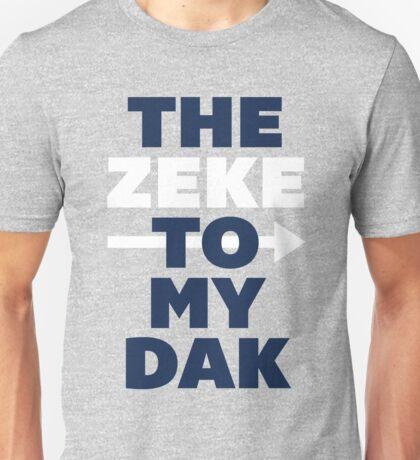 The Zeke To My Dak (Blue/White) Unisex T-Shirt