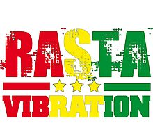 Rasta vibration Photographic Print